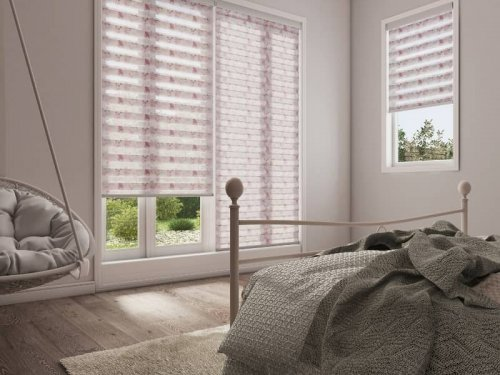 Day and night blinds - bedroom