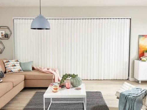 Allusion blinds - living room