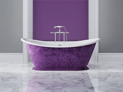 Venetian blinds - bathroom