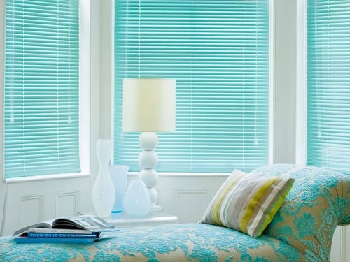 Venetian blinds - living room