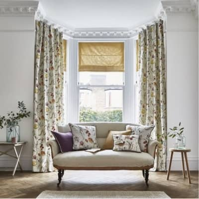 How To Dress A Bay Window Window Blinds And Curtains Guide By Elegancy Blinds In Milton Keynes Elegancy Blinds