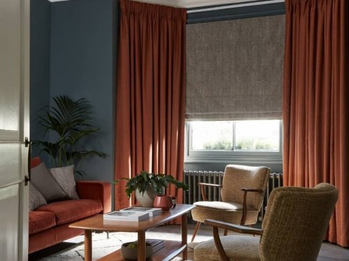 Curtains for the bay window